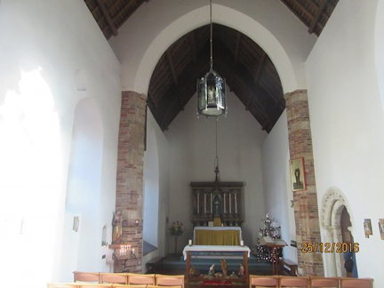 St Julian's church interior