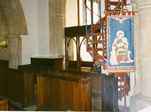 Law's stall in church